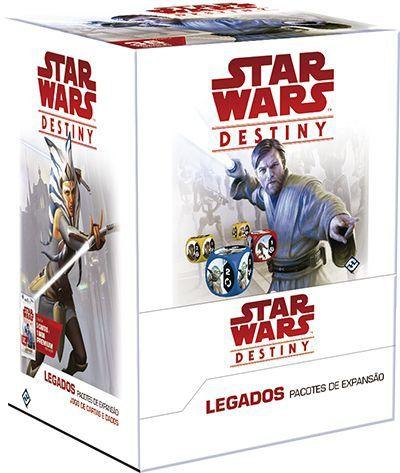Jogo de Cartas (Board Games - Boardgames) Star Wars Destiny - Legados (Pacote de Expansão) - Galápagos Jogos - CD