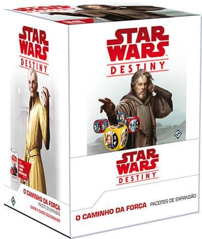 Jogo de Cartas (Board Games - Boardgames) Star Wars Destiny - O Caminho da Força (Pacote de Expansão) - Galápagos Jogos - CD