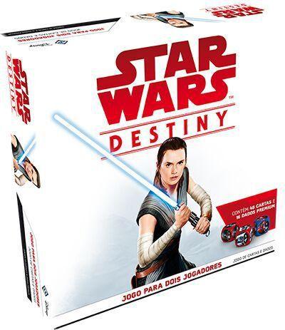 Jogo de Cartas (Board Games - Boardgames) Star Wars Destiny - Pacote Inicial (Jogo para 2 Jogadores) - Galápagos Jogos - CD