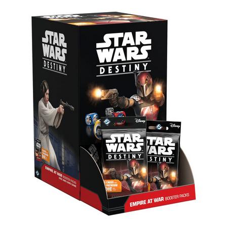 Jogo de Cartas (Board Games - Boardgames) Star Wars Destiny (Pacotes de Expansão: Império em Guerra) - Galápagos Jogos - CD