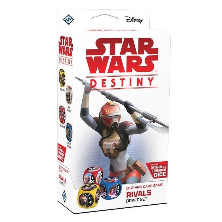 Jogo de Cartas (Board Games - Boardgames) Star Wars Destiny - Rivais (Pacote de Draft) - Galápagos Jogos - CD
