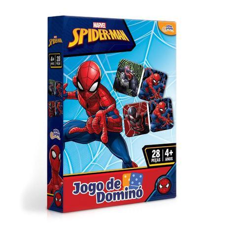 Jogo De Domino Homem Aranha Marvel: 28 Peças 4+ - Hasbro