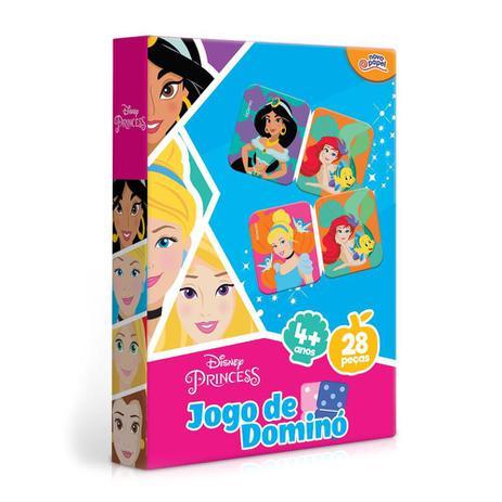 Jogo De Domino Princesas Disney: 28 Peças 4+ - Hasbro