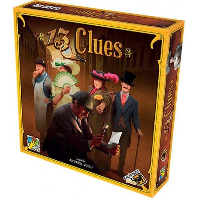 Jogo de Tabuleiro (Board Games - Boardgames) 13 Clues - Galápagos Jogos