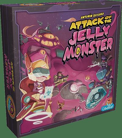 Jogo de Tabuleiro (Board Games - Boardgames) Attack of the Jelly Monster - Galápagos Jogos - CD