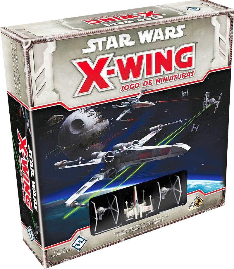 Jogo de Tabuleiro (Board Games - Boardgames) Star Wars X-Wing (Jogo Base) - Galápagos Jogos