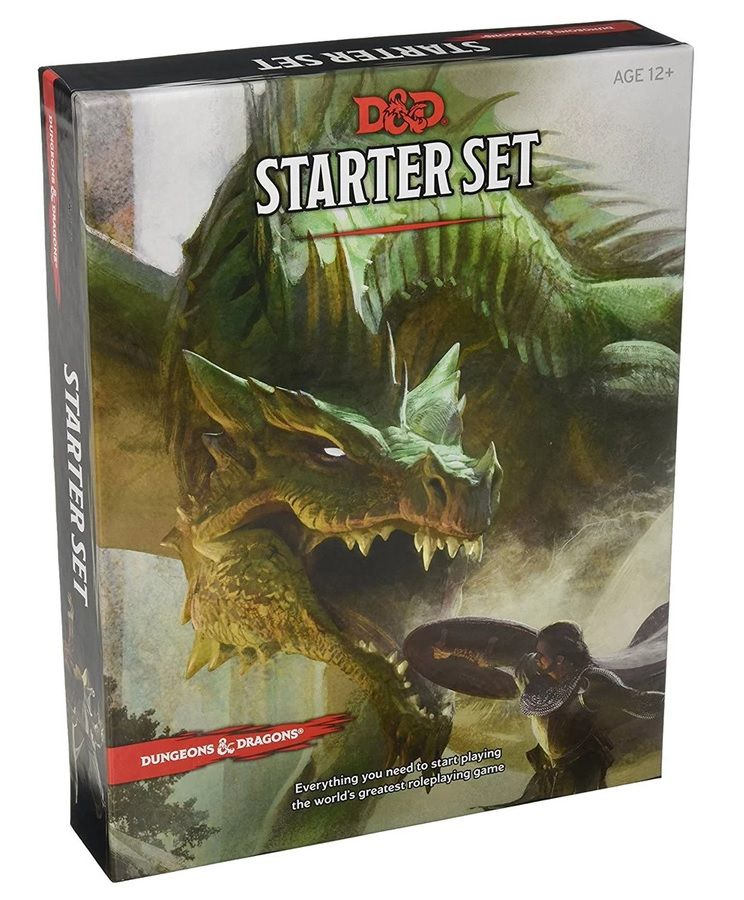 Jogo de Tabuleiro (Board Games) Dungeons & Dragons Starter Set (Apenas Venda Online)