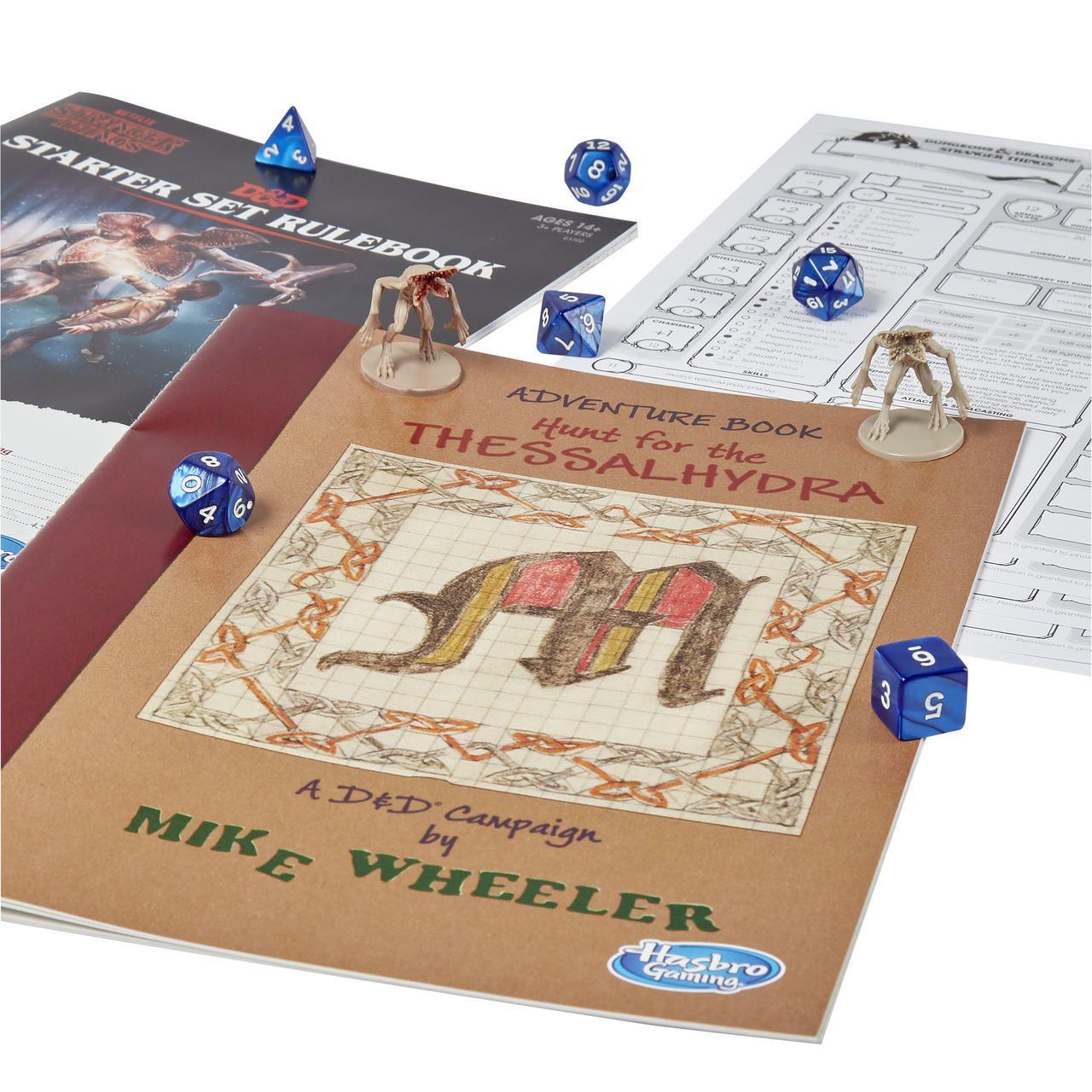 Jogo de Tabuleiro (Board Games) Dungeons & Dragons (Starter Set): Stranger Things