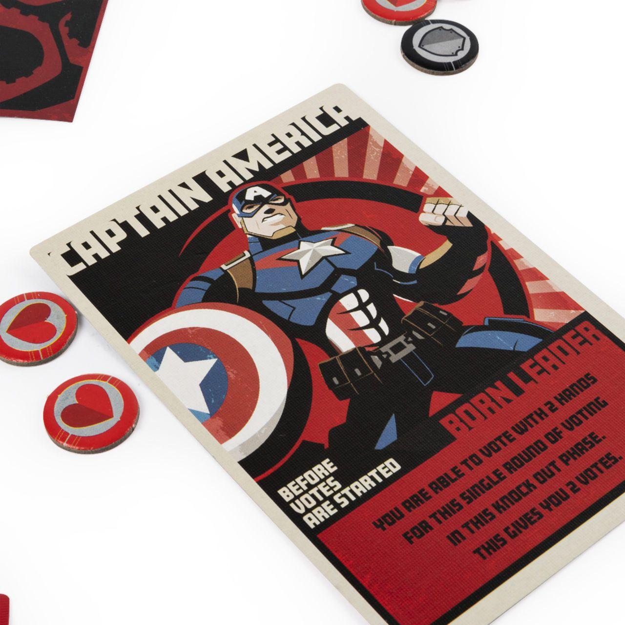 Jogo de Tabuleiro (Board Games) Hail Hydra: Marvel Comics