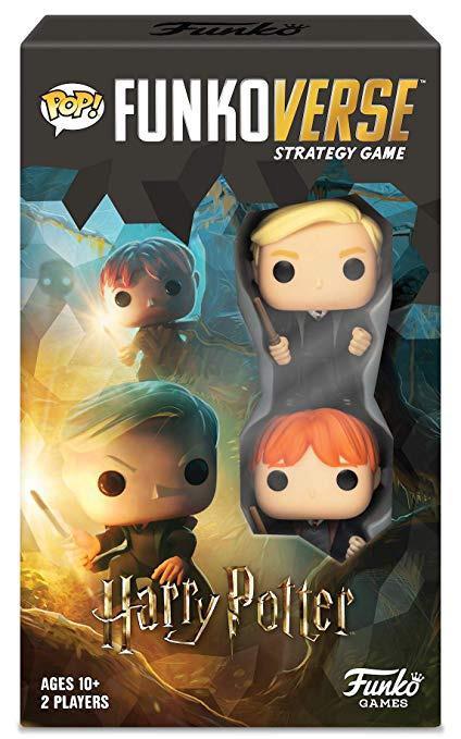 Funkoverse Jogo de Tabuleiro (Board Games) Harry Potter 101 Strategy Game: Funkoverse - Funko