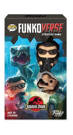 Jogo de Tabuleiro (Board Games) Jurassic Park 101 Strategy Game: Funkoverse - Funko (Apenas Venda Online)