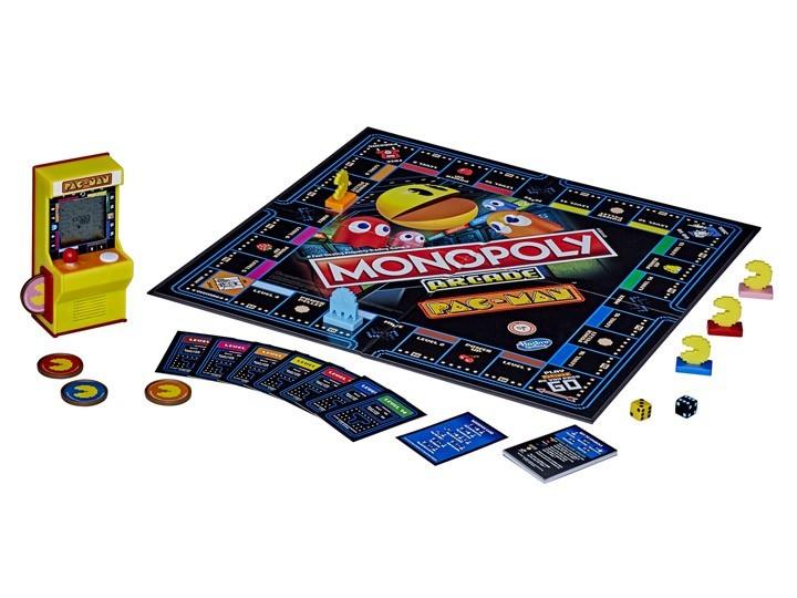 Jogo de Tabuleiro (Board Games) Monopoly Arcade Pac-Man - Hasbro Gaming