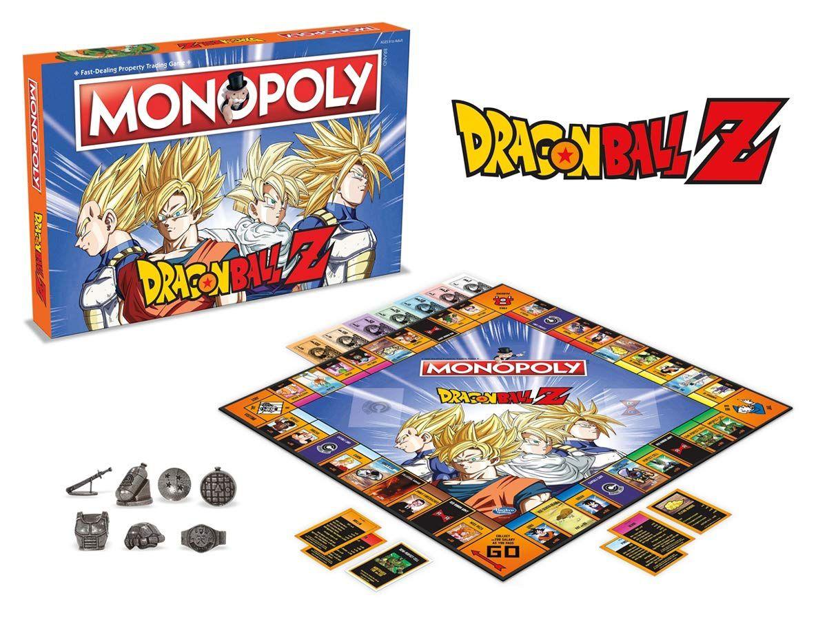 Jogo de Tabuleiro (Board Games) Monopoly Dragon Ball Z - USAopoly