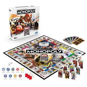 Jogo de Tabuleiro (Board Games) Monopoly Marvel 80 Anos - Hasbro Gaming