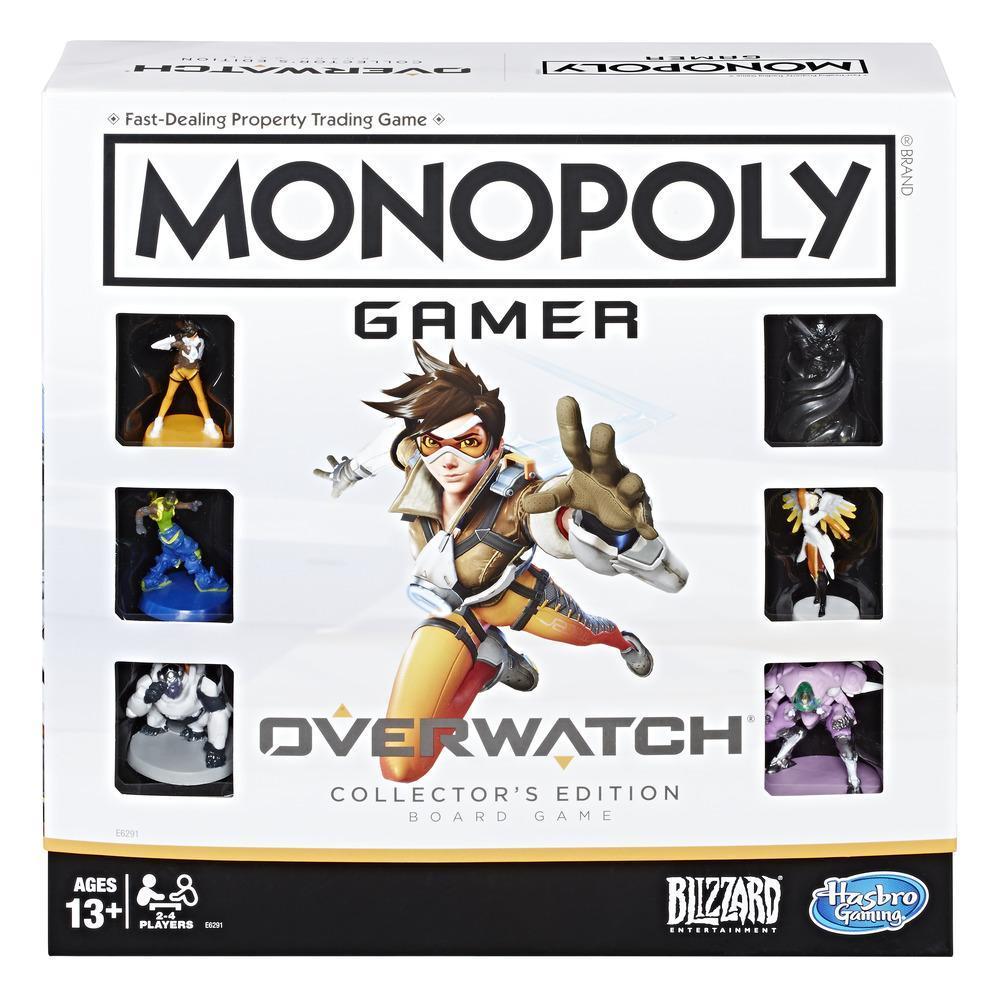 Jogo de Tabuleiro (Board Games) Monopoly Overwatch - Hasbro Gaming