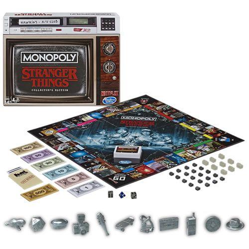 Jogo de Tabuleiro (Board Games) Monopoly Stranger Things (Collector's Edition) - USAopoly