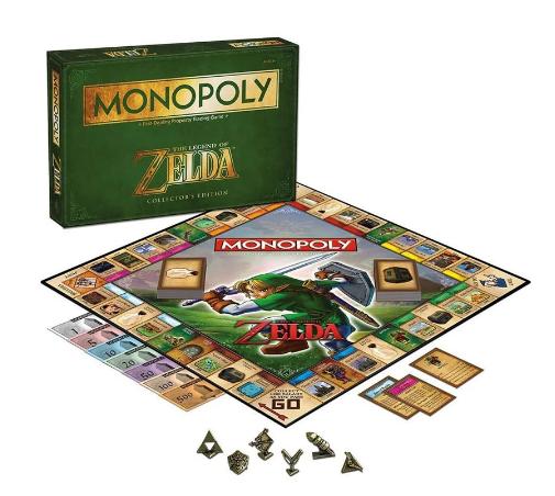 Jogo de Tabuleiro (Board Games) Monopoly The Legend of Zelda (Collector's Edition) Hasbro - MKP