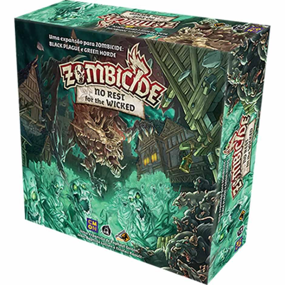 Jogo de Tabuleiro (Board Games - Boardgames) No Rest for the Wicked: Zombicide - Galápagos Jogos