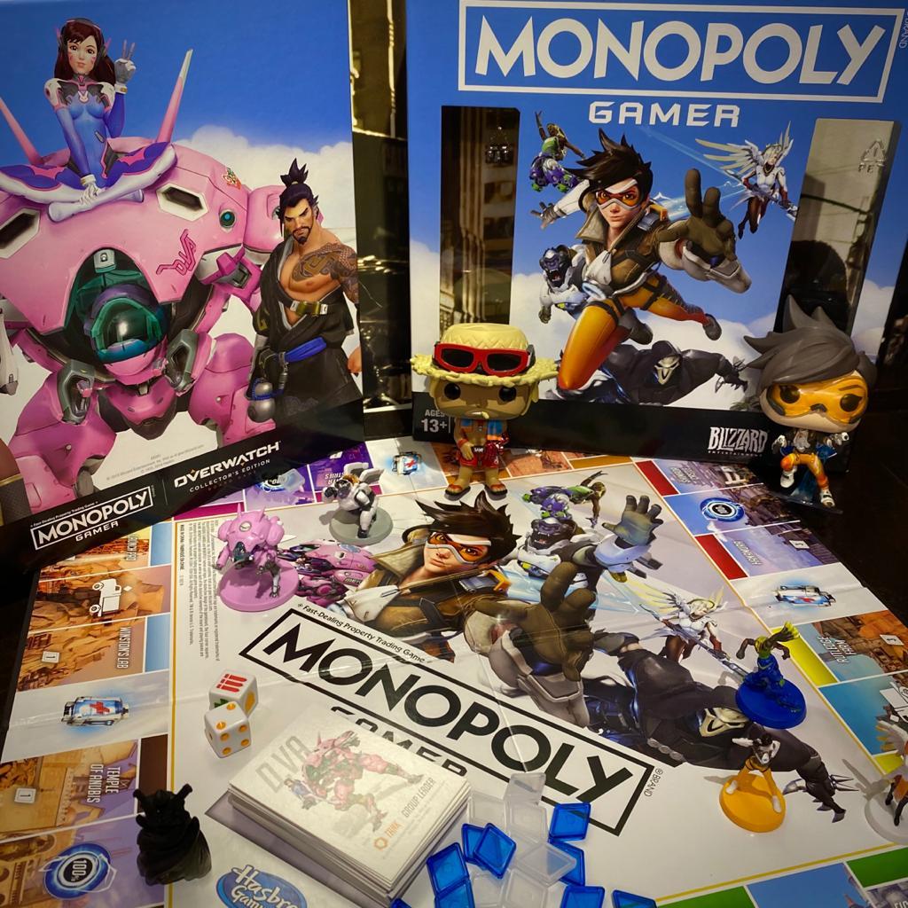Jogo de Tabuleiro Monopoly (Board Games) Overwatch Collector´s Editor - Hasbro Gaming