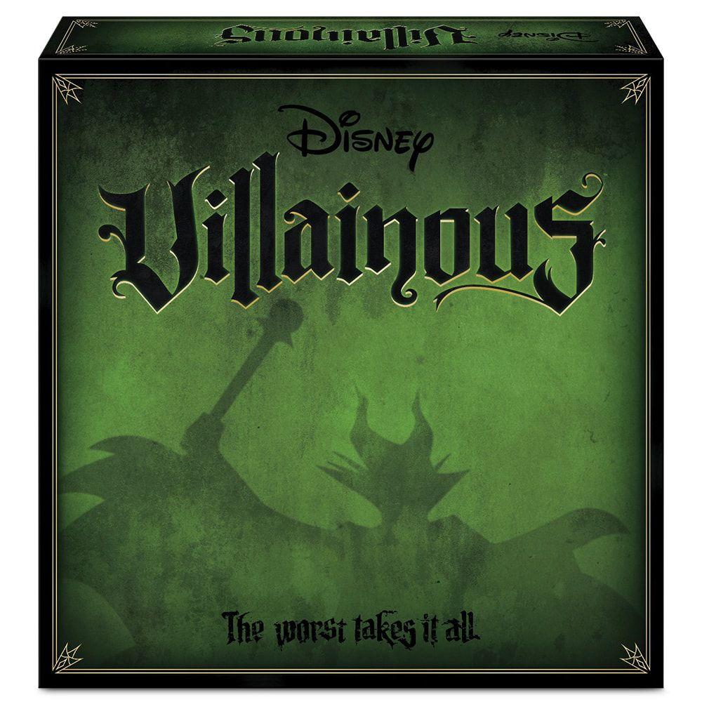 Jogo de Tabuleiro (Board Games) Villainous (The Worst Takes it All): Disney - Wonder Forge (Apenas Venda Online)