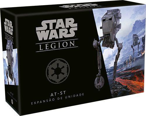 Jogo de Tabuleiro (Board Games - Boardgames) Wave 1 - AT-ST (Expansão de Unidade) Star Wars Legion - Galápagos Jogos - CD