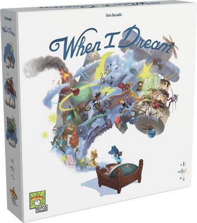 Jogo de Tabuleiro (Board Games - Boardgames) When I Dream - Galápagos Jogos