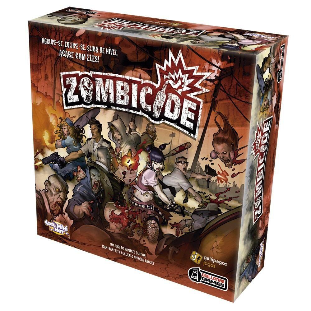 Jogo de Tabuleiro (Board Games - Boardgames) Zombicide - Galápagos Jogos