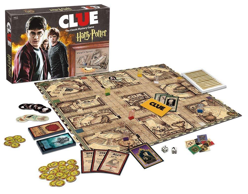Jogo de Tabuleiro Clue: Harry Potter - USAopoly (Apenas Venda Online) - Monopoly