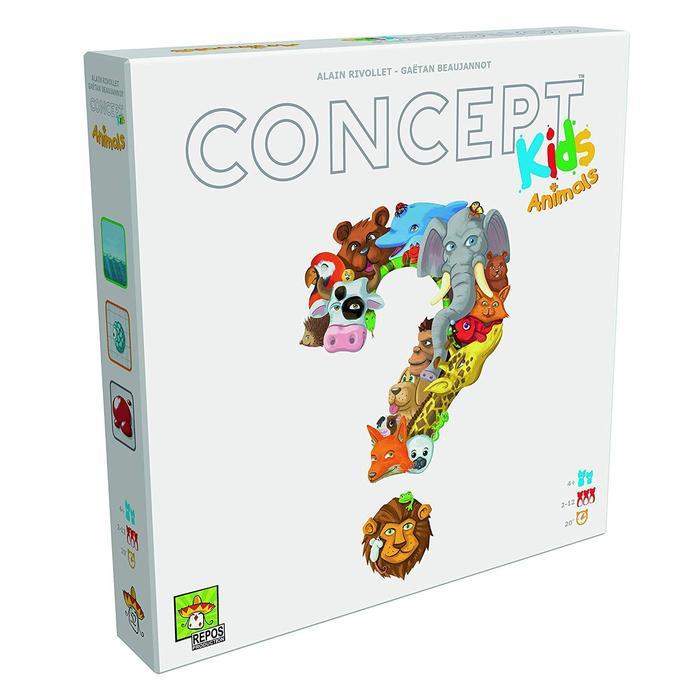 Jogo de Tabuleiro (Board Games - Boardgames) Concept Kids - Galápagos Jogos