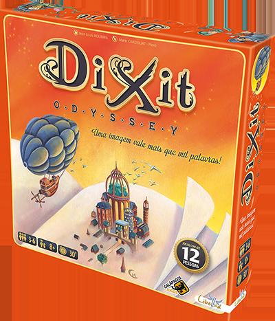 Jogo de Tabuleiro (Board Games - Boardgames) Dixit Odyssey - Galápagos Jogos