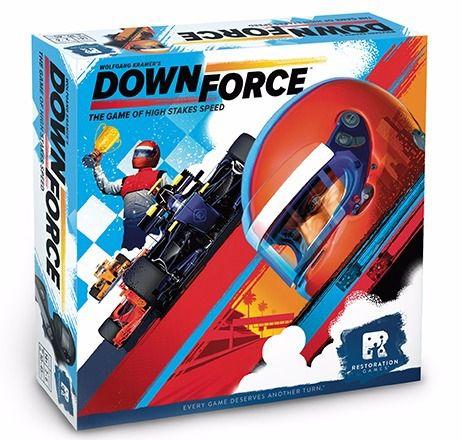 Jogo de Tabuleiro (Board Games - Boardgames) Downforce - Galápagos Jogos