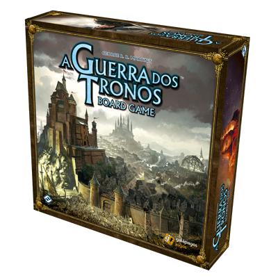 Jogo de Tabuleiro (Board Games - Boardgames) Guerra dos Tronos: (2ª Edição) - Galápagos Jogos