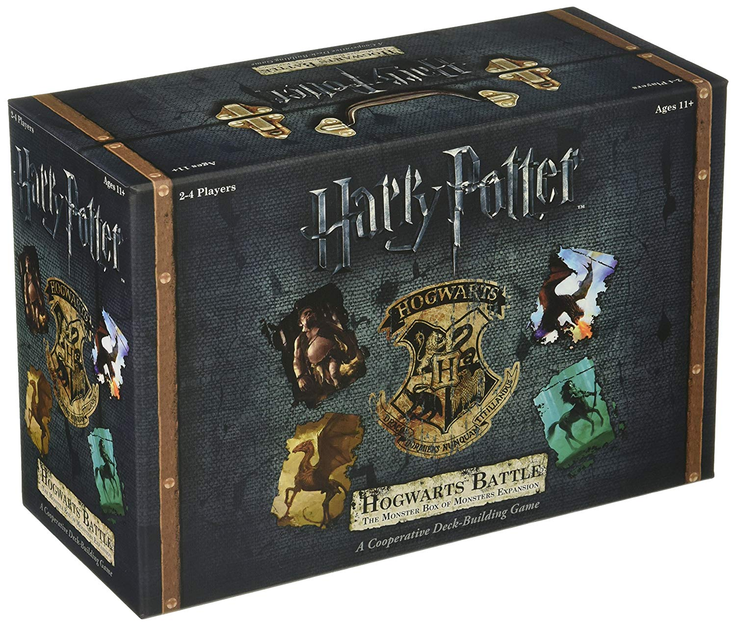 Jogo de Tabuleiro Hogwarts Battle (The Monster Box Of Monsters Expansion Pack #1): Harry Potter - USAopoly - Monopoly (Apenas Venda Online)
