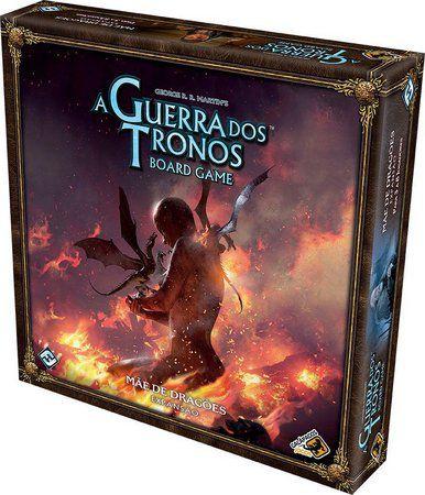 Jogo de Tabuleiro (Board Games - Boardgames) Mãe de Dragões (Expansão A Guerra dos Tronos) Board Game - Galápagos Jogos