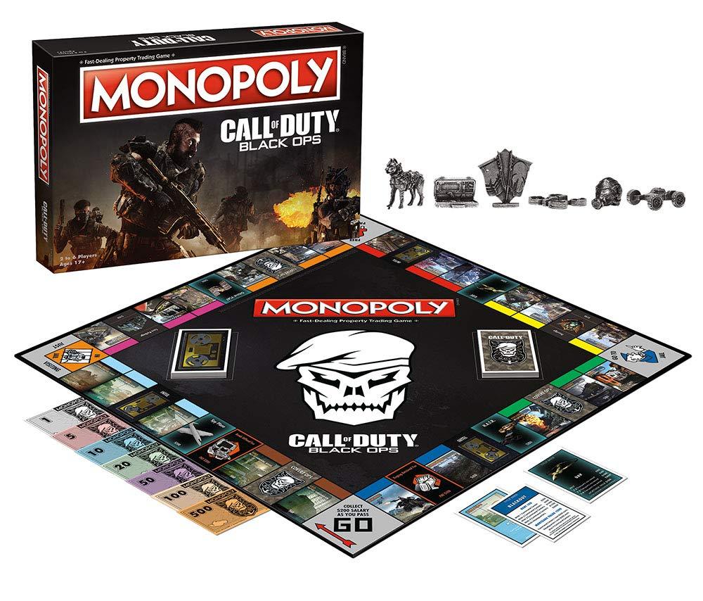 Jogo de Tabuleiro Monopoly: Call of Duty (Black Ops) - USAopoly