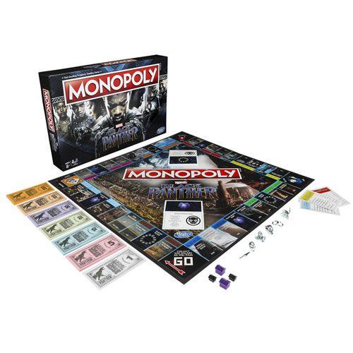 Jogo de Tabuleiro Monopoly: Pantera Negra (Black Panther) - USAopoly - Monopoly
