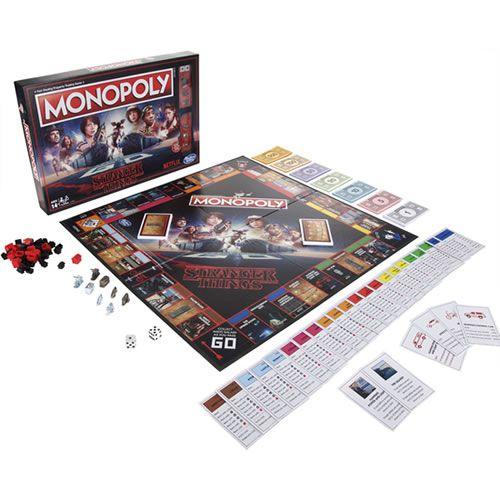 Jogo de Tabuleiro Monopoly: Stranger Things - USAopoly