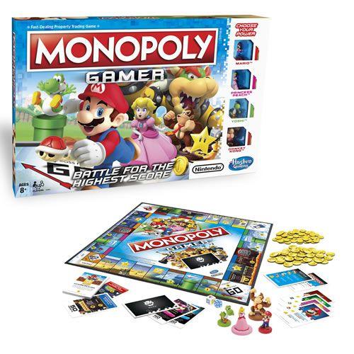 Jogo de Tabuleiro Monopoly: Super Mario Bros (Gamer) - USAopoly (Apenas Venda Online)