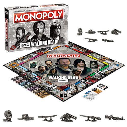 Jogo de Tabuleiro Monopoly: The Walking Dead - USAopoly (Apenas Venda Online)