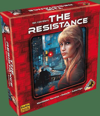 Jogo de Tabuleiro (Board Games - Boardgames) The Resistance - Galápagos Jogos