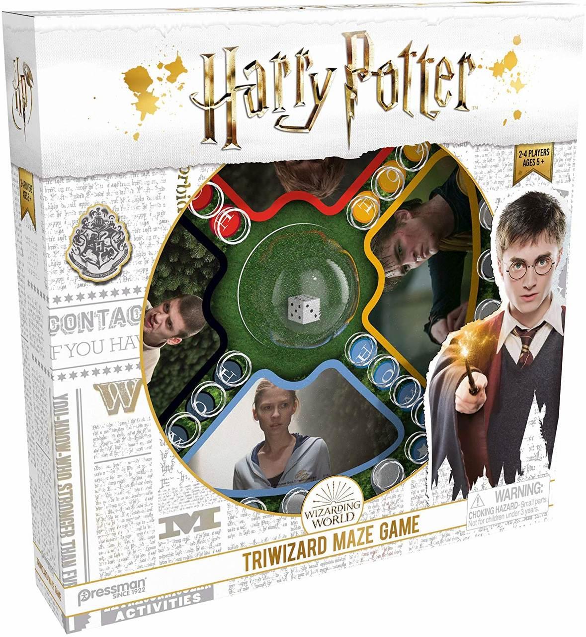 Jogo de Tabuleiro Tournament Triwizard Waze Game: Harry Potter