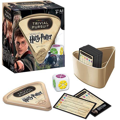 Jogo de Tabuleiro Trivial Pursuit: World Of Harry Potter - USAopoly (Apenas Venda Online)
