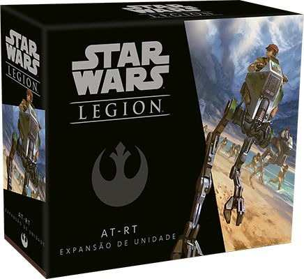 Jogo de Tabuleiro (Board Games - Boardgames) Wave 0 - AT-RT (Expansão de Unidade) Star Wars Legion - Galápagos Jogos - CD