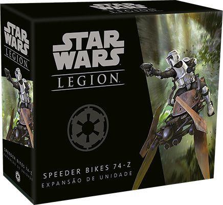 Jogo de Tabuleiro (Board Games - Boardgames) Wave 0 - Speeder Bikes 74-Z (Expansão de Unidade) Star Wars Legion - Galápagos Jogos - CD