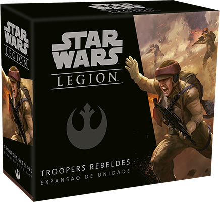Jogo de Tabuleiro (Board Games - Boardgames) Wave 0 - Troopers Rebeldes (Expansão de Unidade) Star Wars Legion - Galápagos Jogos - CD