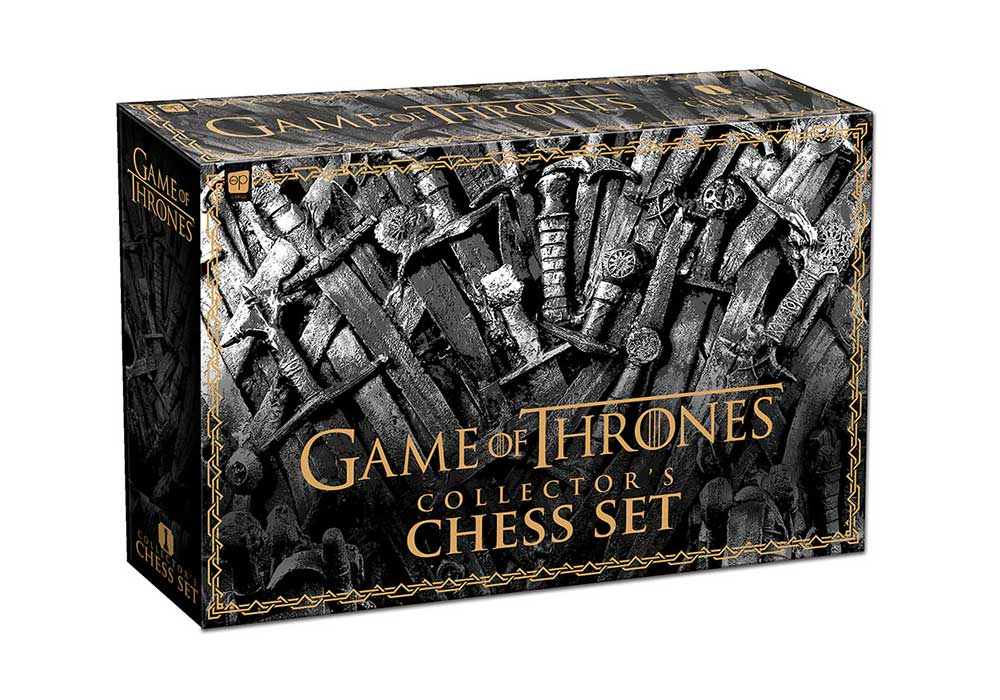 Jogo de Xadrez Game of Thrones (Collector's Chess Set) - USAopoly