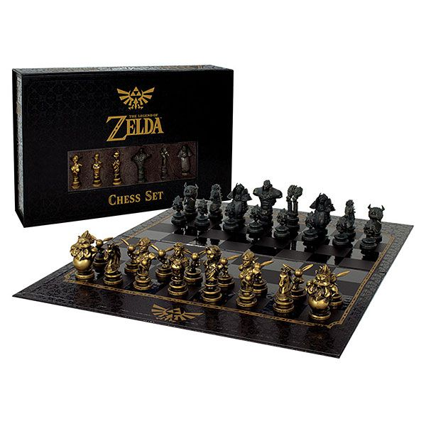 Jogo de Xadrez The Legend of Zelda (Collector Set) - USAopoly