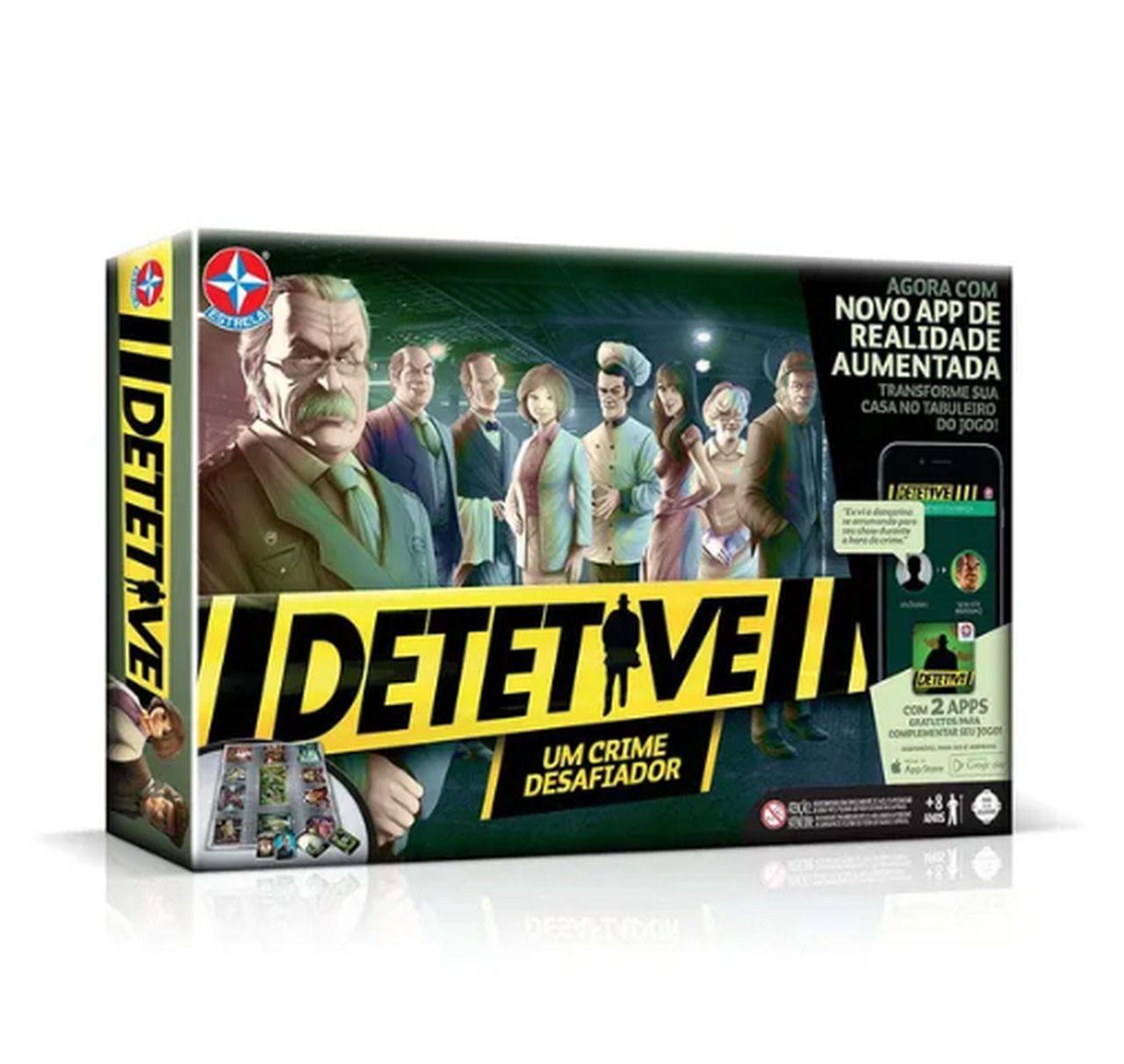 Jogo Detetive com Aplicativo (Board Games) - Estrela