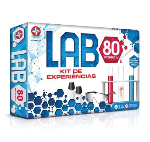 Jogo Lab 80 (Kit de Experiências) - Estrela