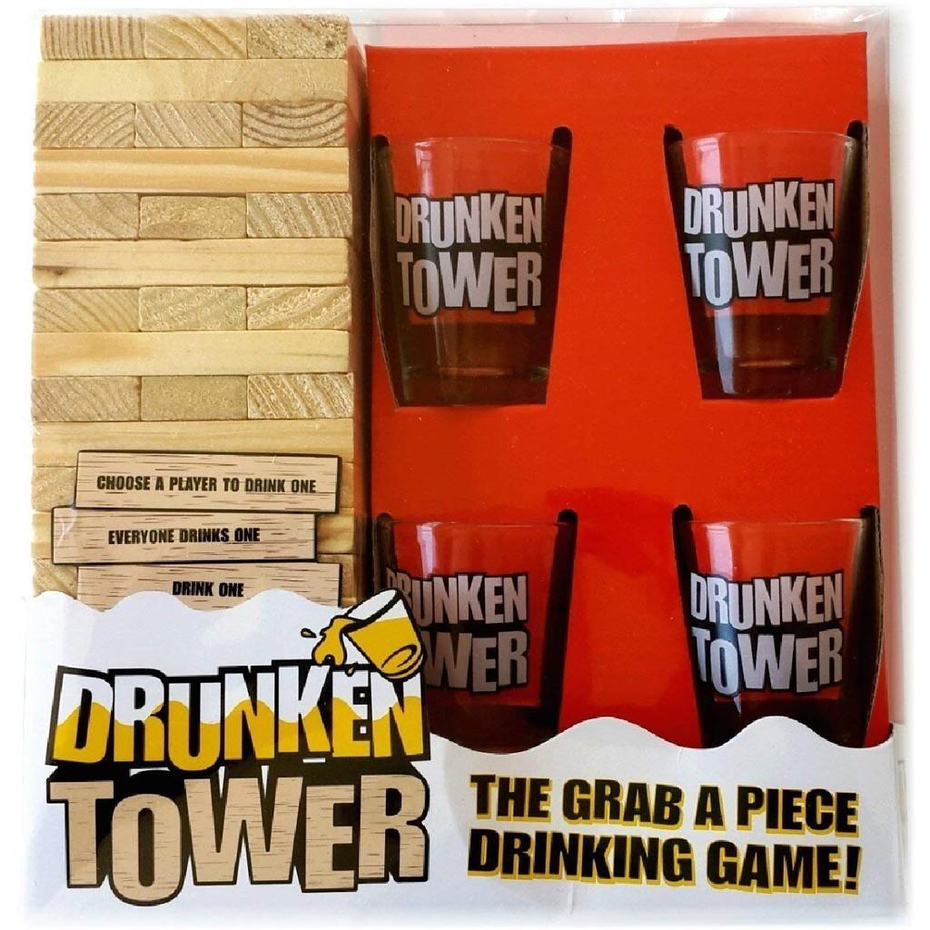 Jogo Torre Do Equilíbro: Drunken Tower